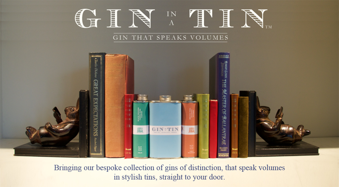 Gin In A Tin - A bespoke collection of gins of distinction in tins straight to your door
