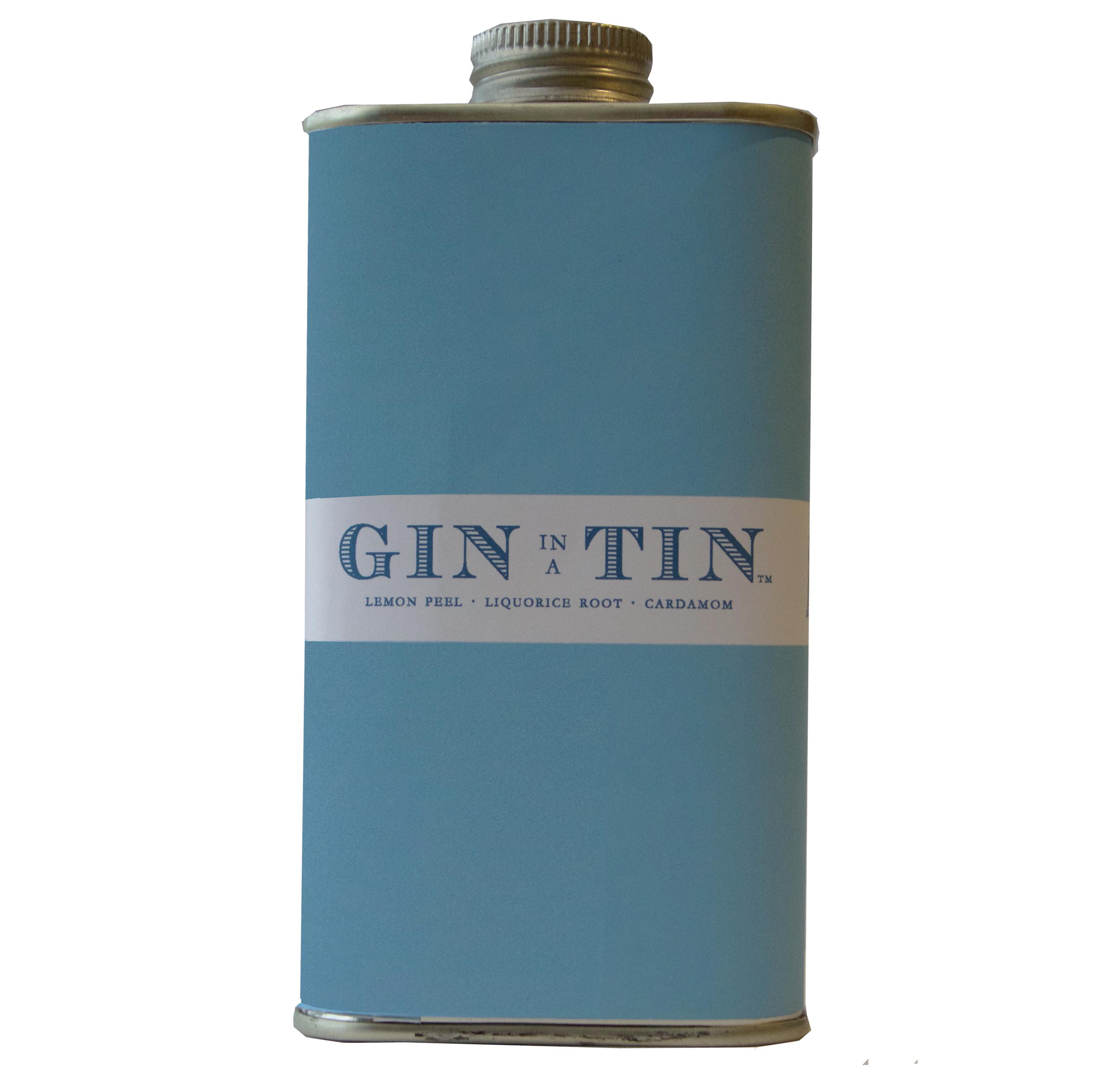 GIN IN A TIN - LEMON PEEL, CORIANDER & CARDAMOM NO.2