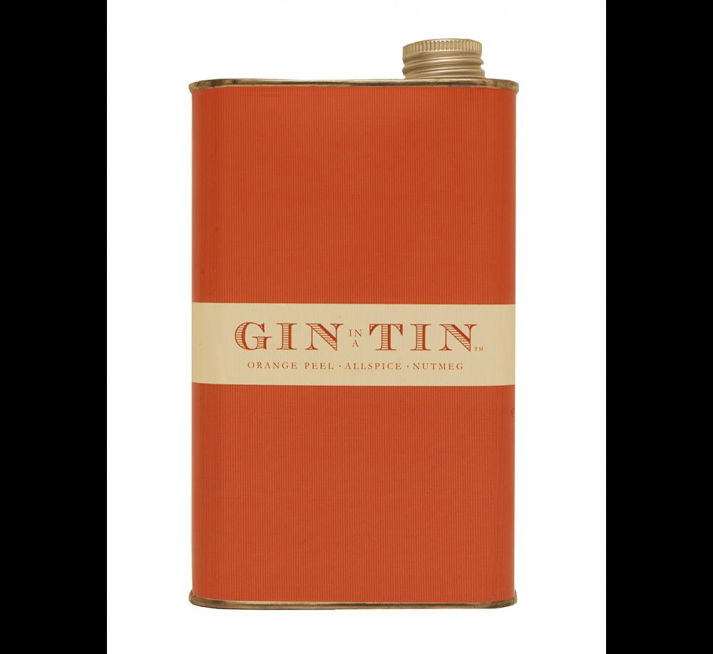 GIN IN A TIN - ORANGE PEEL, NUTMEG & ALLSPICE NO.1