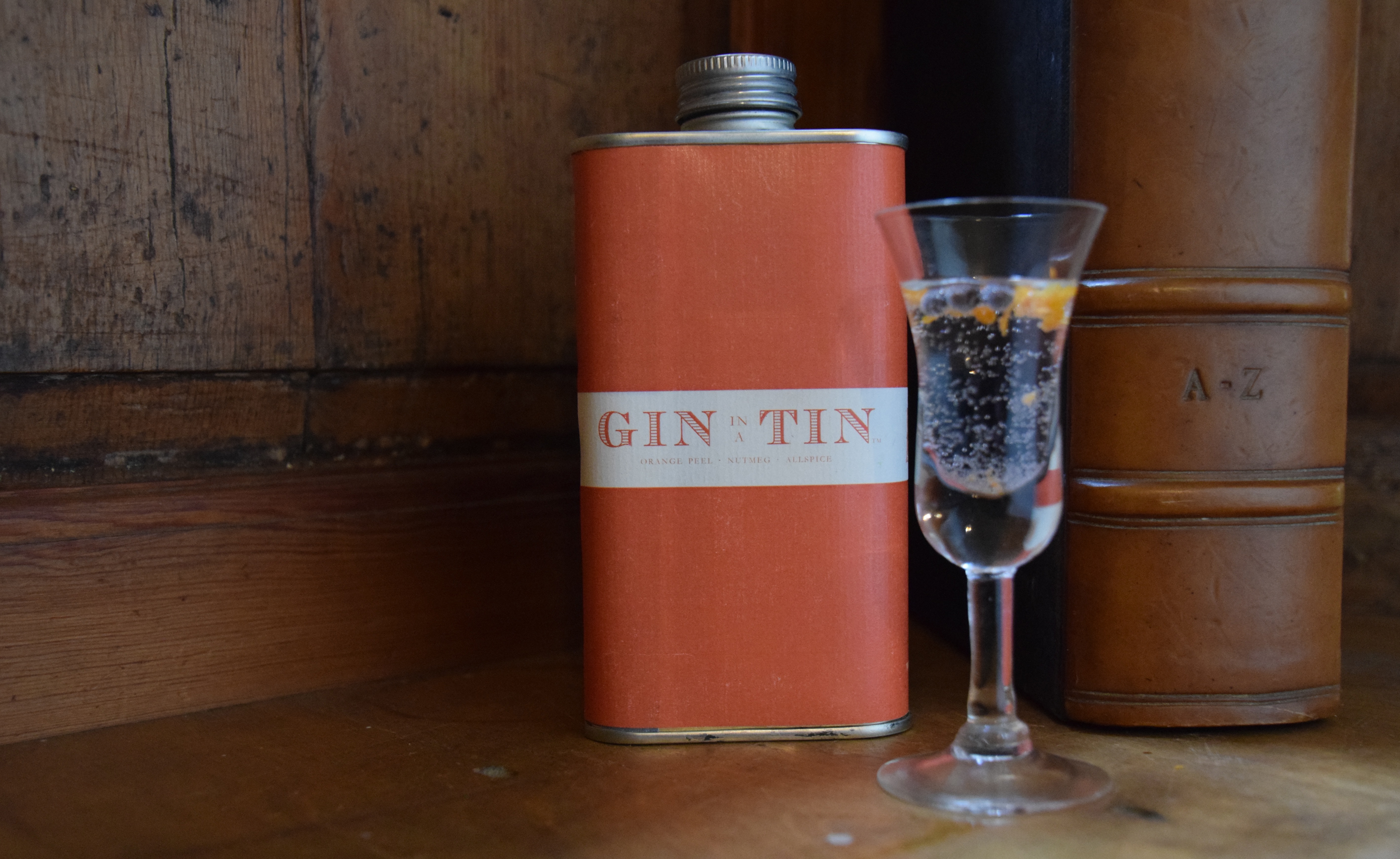 GIN IN A TIN - ORANGE PEEL, NUTMEG & ALLSPICE – WINTER NO.1