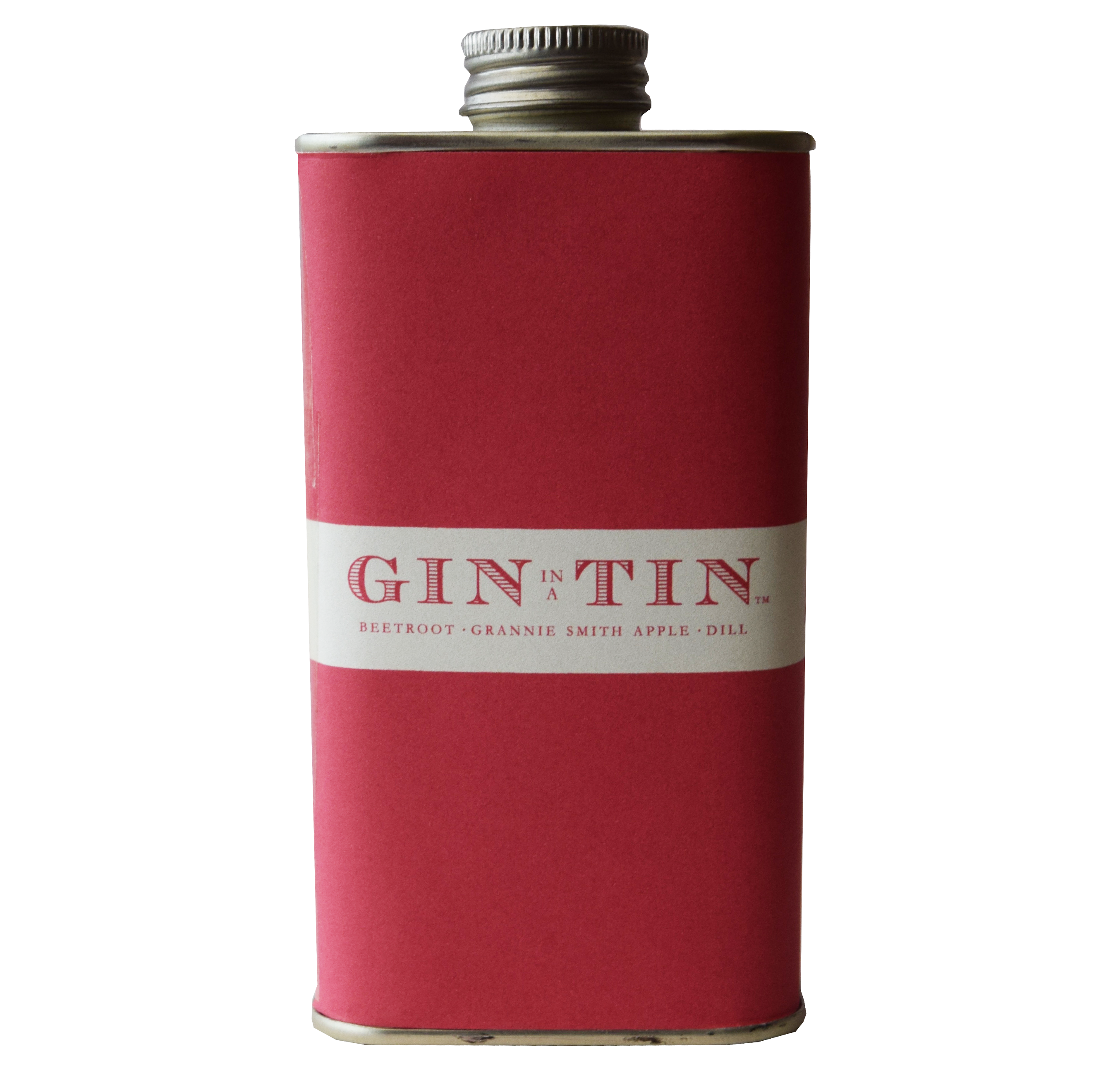 GIN IN A TIN - BEETROOT, APPLE & DILL NO.4