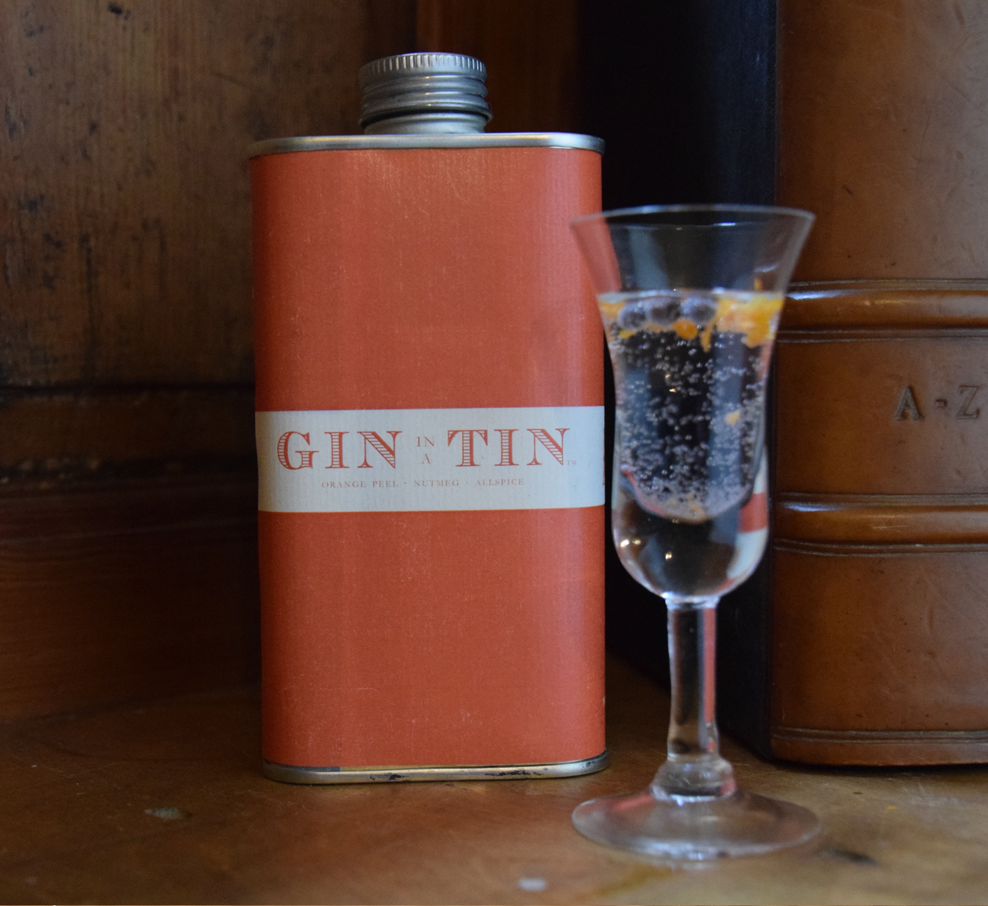 GIN IN A TIN - ORANGE PEEL, NUTMEG & ALLSPICE – WINTER NO.1