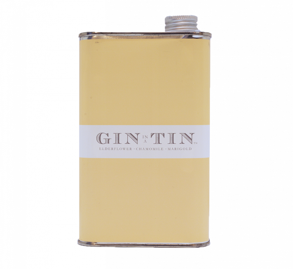 GIN IN A TIN - ELDERFLOWER, CHAMOMILE & MARIGOLD - NO.5