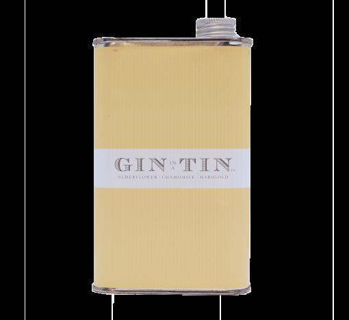GIN IN A TIN - ELDERFLOWER, CHAMOMILE & MARIGOLD - NO.5