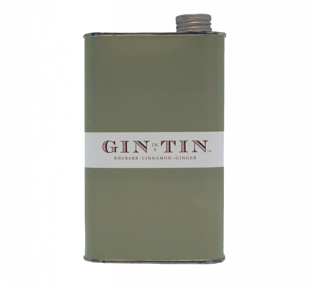 GIN IN A TIN - RHUBARB, CINNAMON & GINGER NO.6 – 50CL TIN