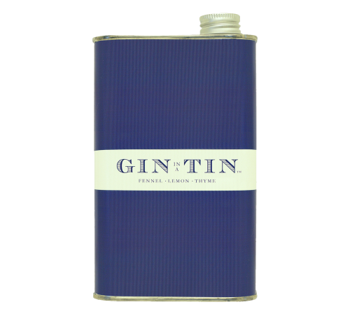 GIN IN A TIN - FENNEL, LEMON & THYME NO.7 – 50CL TIN