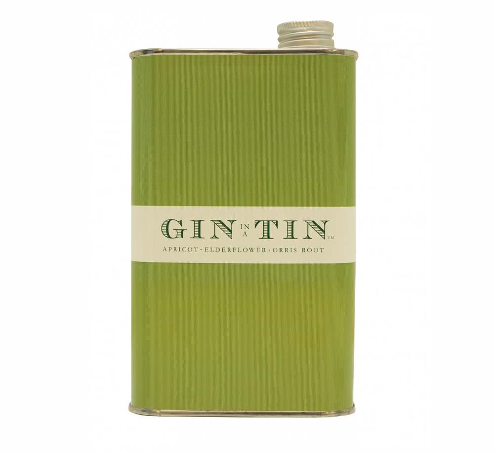 GIN IN A TIN - APRICOT, ELDERFLOWER AND ORRIS ROOT NO.9