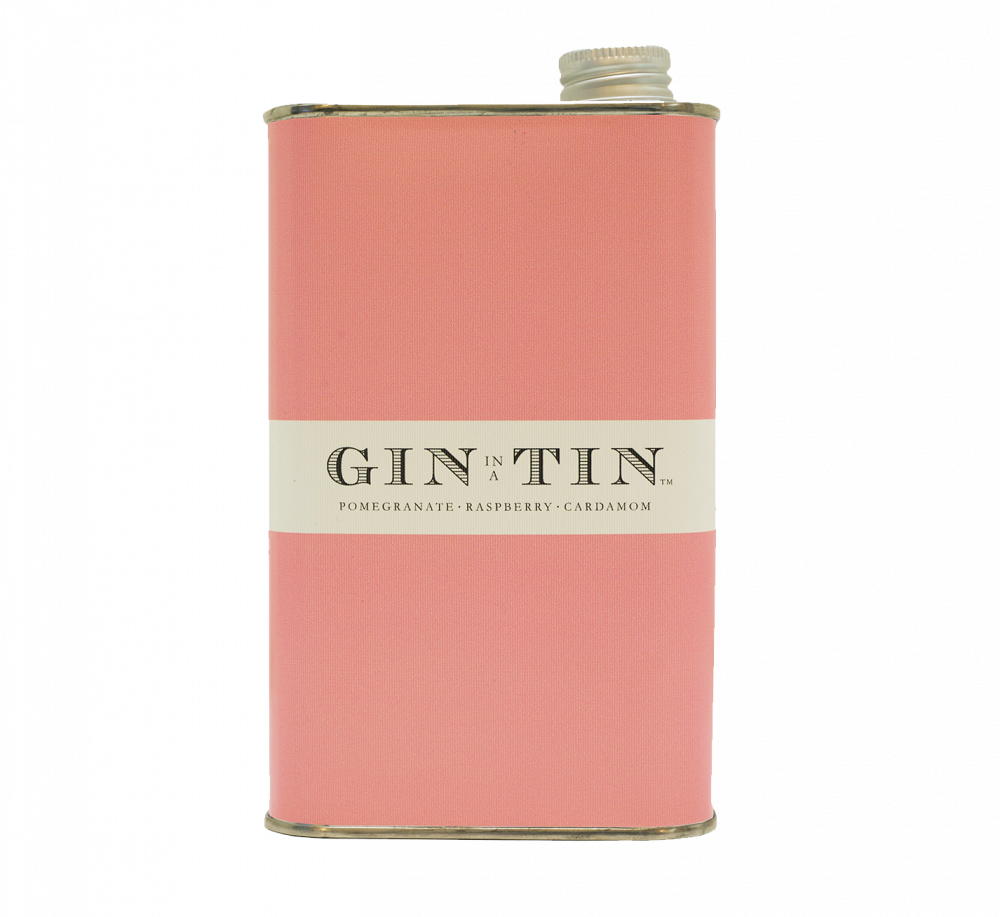 GIN IN A TIN - POMEGRANATE, RASPBERRY & CARDAMOM NO.10