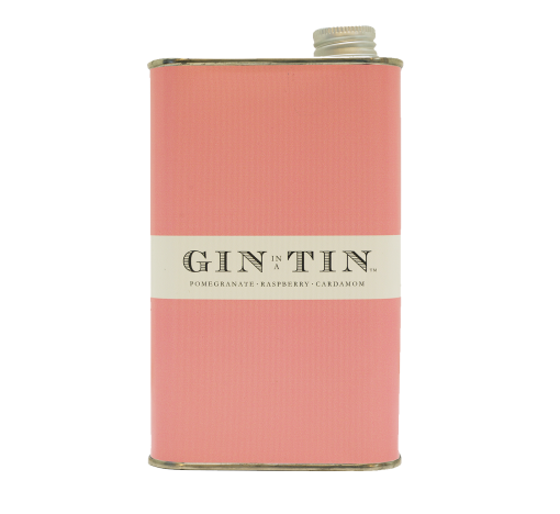 GIN IN A TIN - POMEGRANATE, RASPBERRY & CARDAMOM NO.10