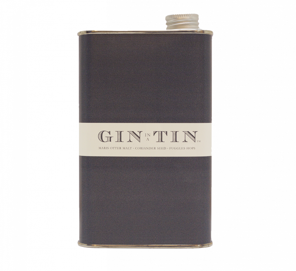 Gin In A Tin - Blend No.11 FUGGLES HOPS, CORIANDER SEED & MARIS OTTER MALT NO.11 50CL TIN