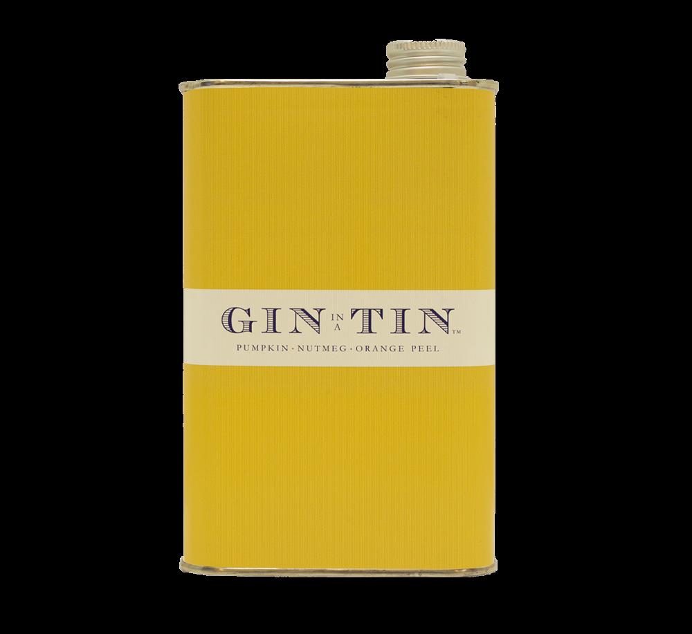 Gin In A Tin - Blend No.12 Pumpkin, Nutmeg and Orange Peel NO.12 50CL TIN