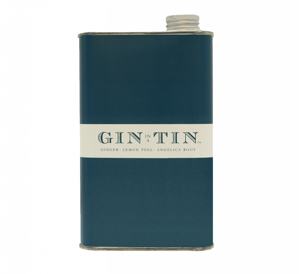 GIN IN A TIN - GINGER, ANGELICA ROOT & LEMON PEEL NO.13 – 50CL TIN