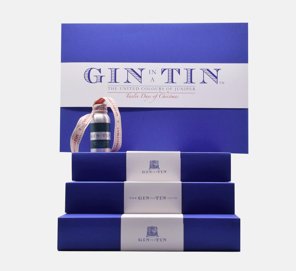 Gin In A Tin - Gift Set - 12 Days of Christmas