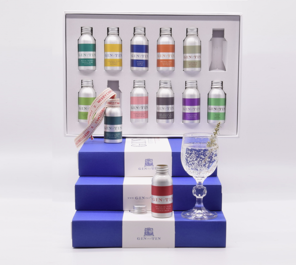 Gin In A Tin - Box Set of 12 -12 days of Christmas.