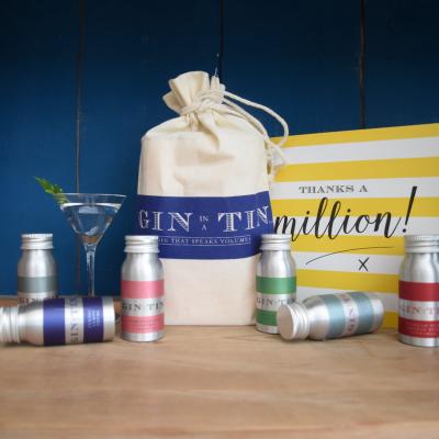 Gin In A Tin - Thank you Teacher Gift Set