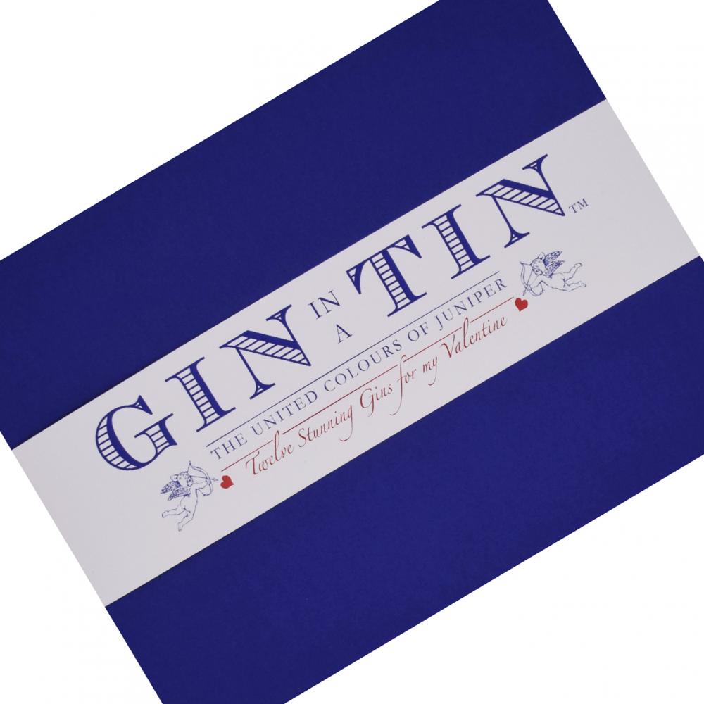 Gin In A Tin - Box Set 12 - Box Lid - Valentines