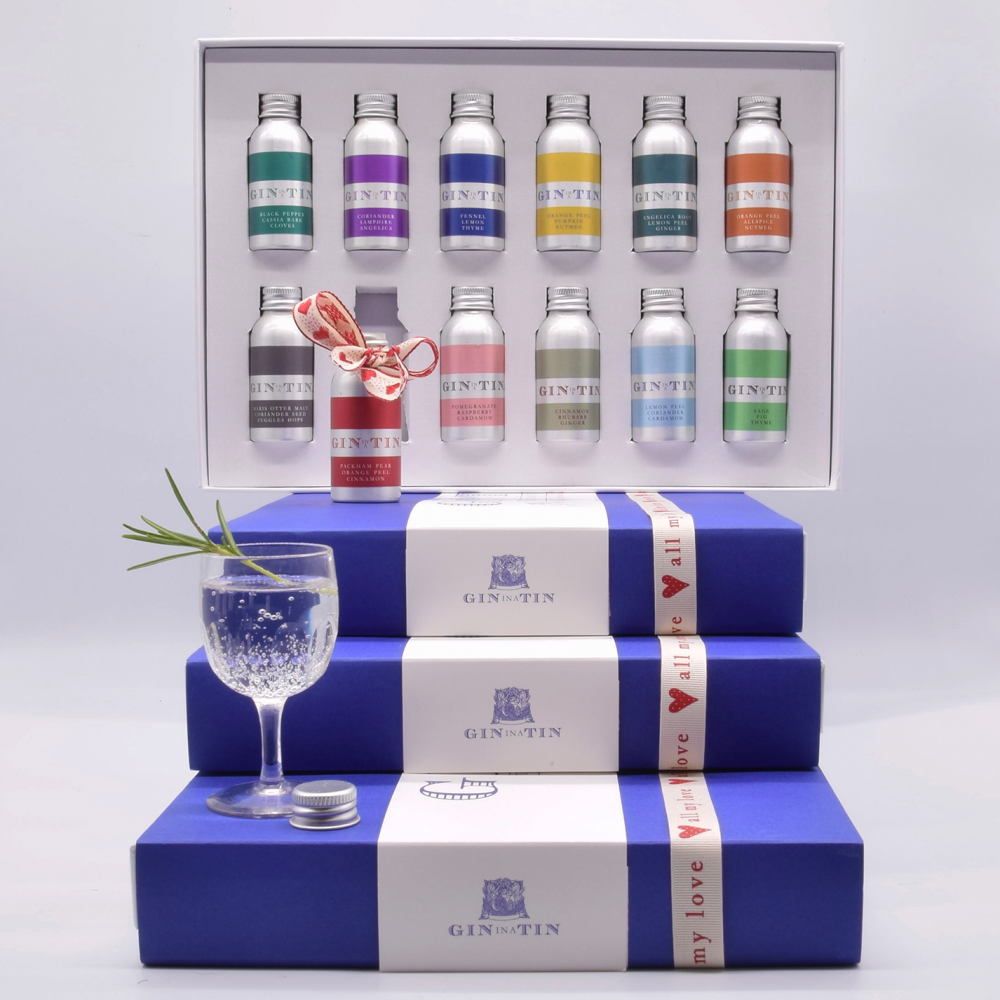 Gin In A Tin - Box Set of 12 - Valentine Gin