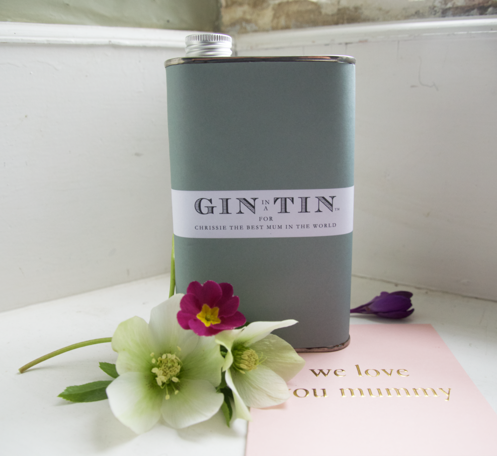 Personalised Gin Tins for Mothers - Mother's Day Gin Gifts