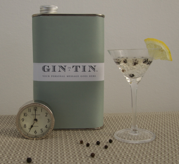 Gin In A Tin - Personalised Gin Tin