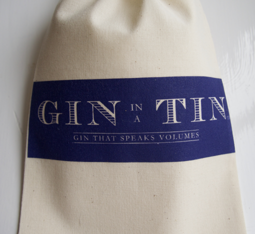 Gin In A Tin - Cotton Gift Bag 2