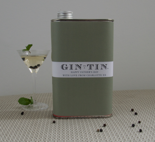 Gin In A Tin - Father's Day Main Product