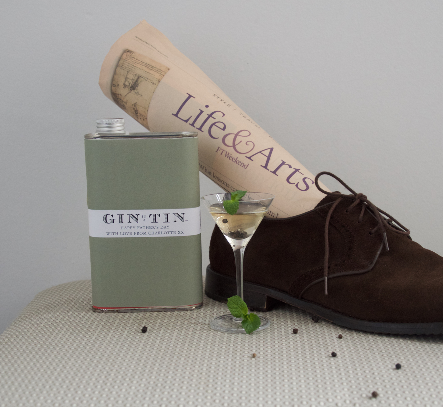 Gin In A Tin - Gin Gifts for Men