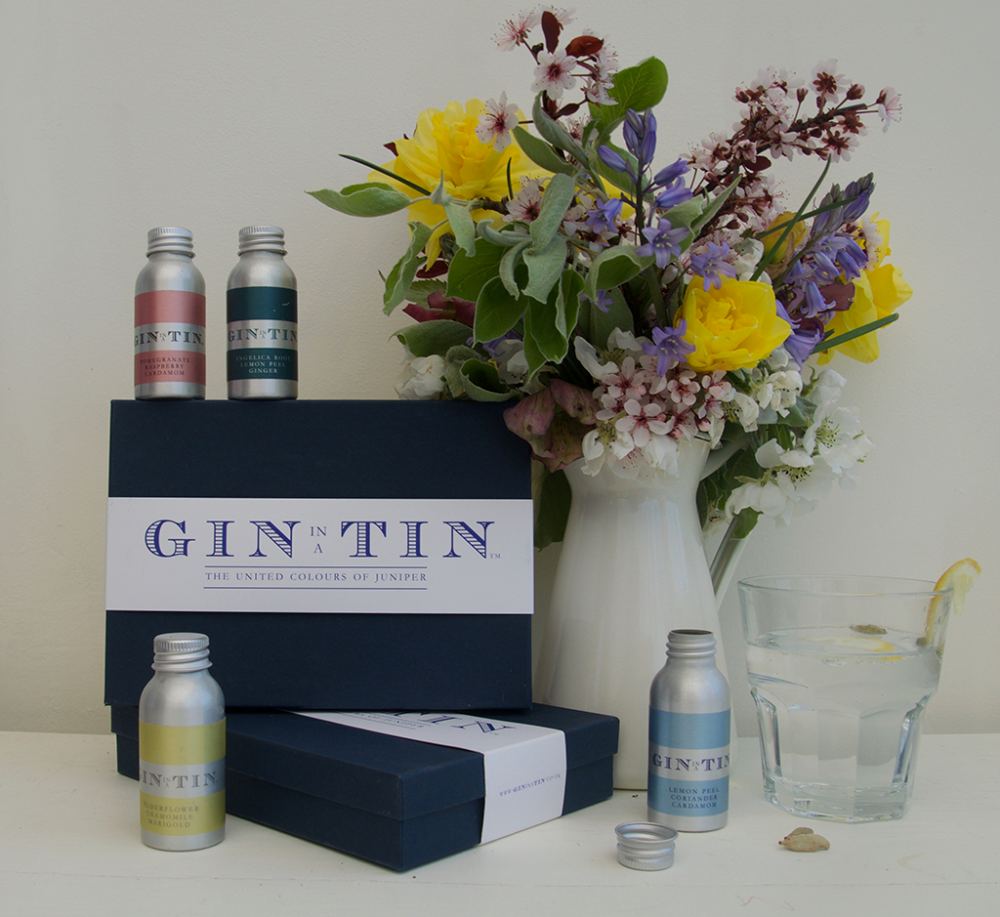 Gin In A Tin - Box Set of Four