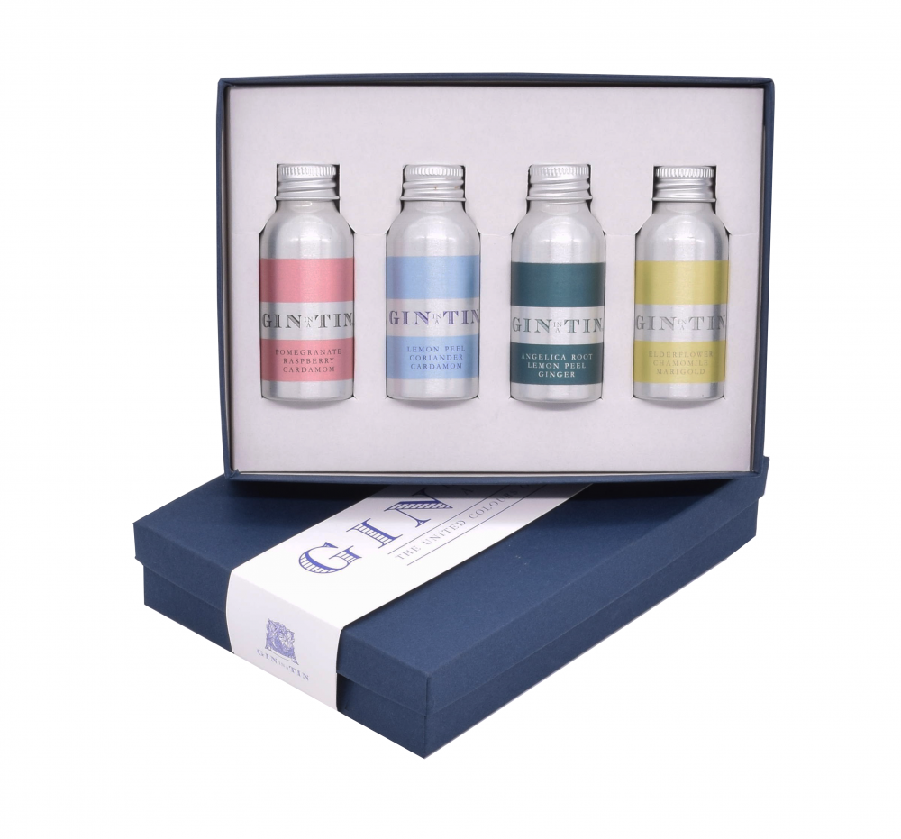 Gin In A Tin - Box Set of Four - Spring