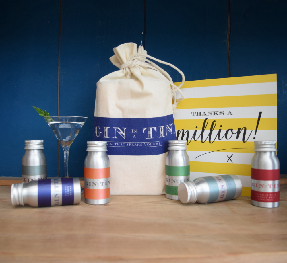 Gin In A Tin - Thank you Key-workers Rainbow Gin
