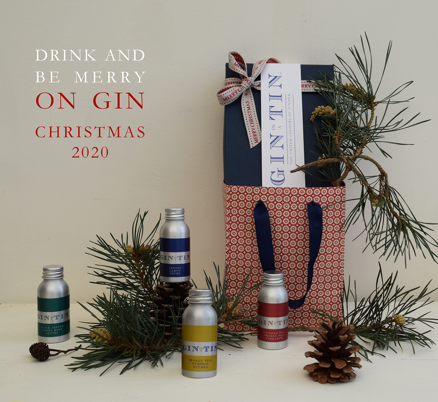Gin In A Tin - Christmas 2020 Box Set of Four