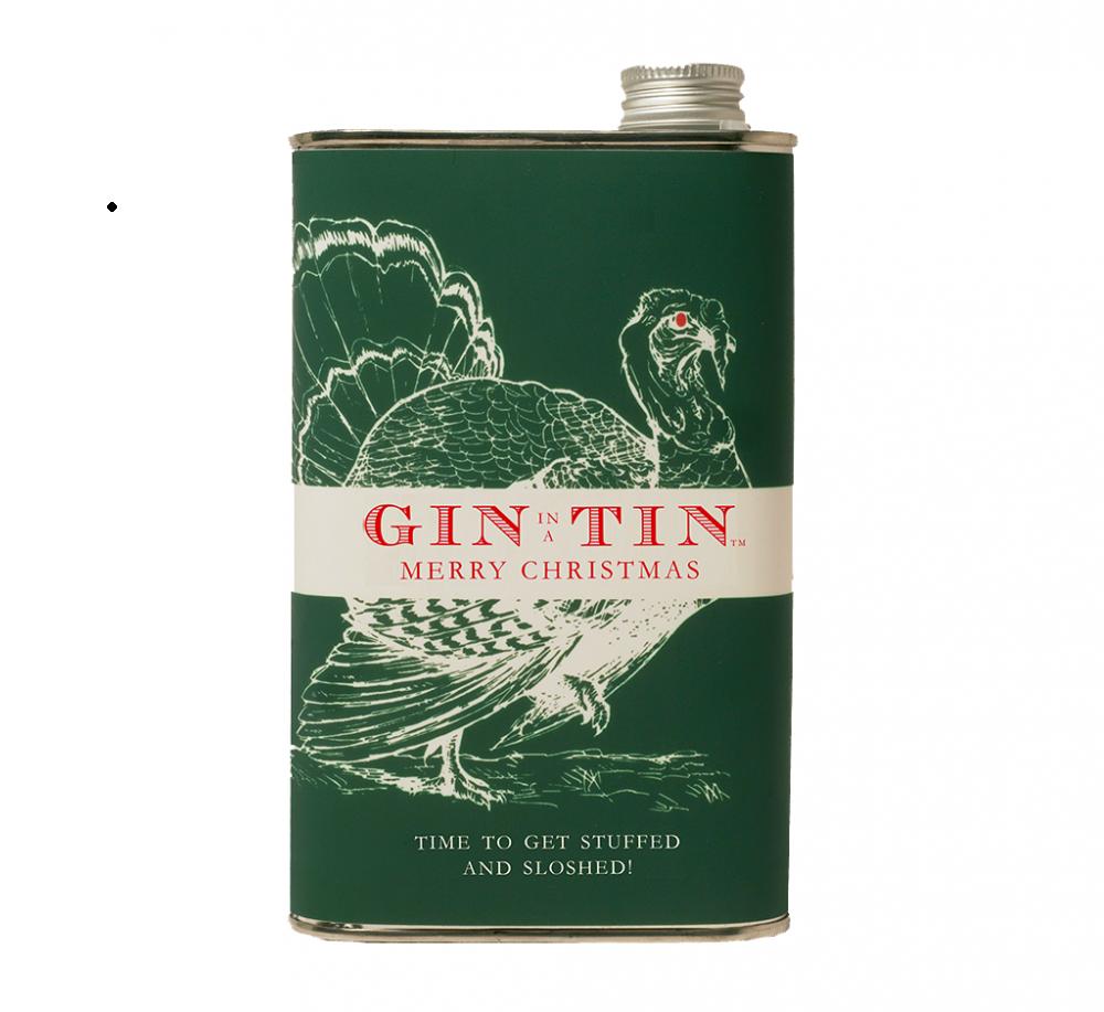 Gin In A Tin - Christmas Gin in Festive Tins