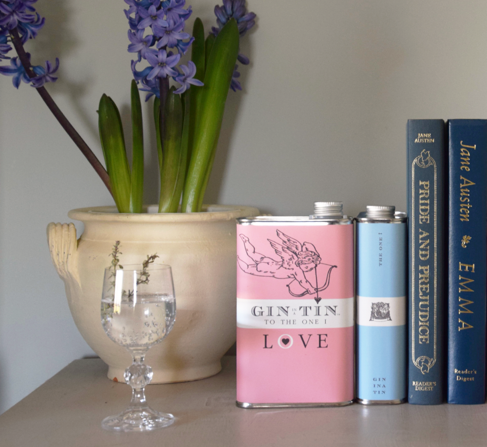 Gin In A Tin - Love Collection - The Cupid Tin