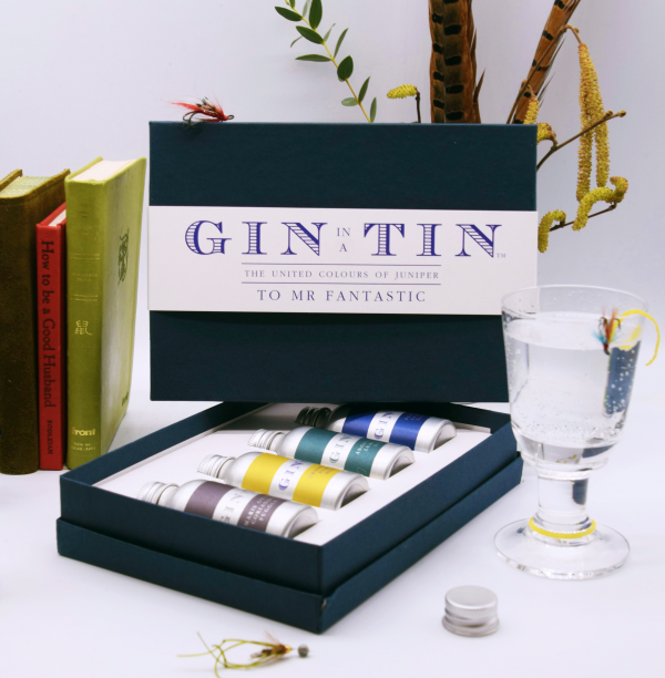 Gin In A Tin - Box fo Four - To Mr Fantastic