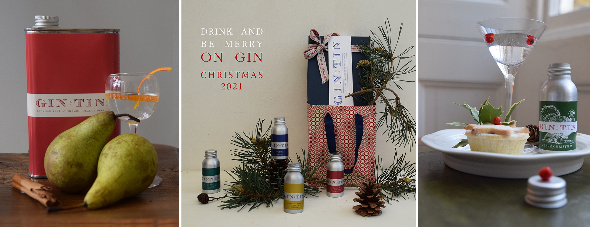 Gin In A Tin - Christmas Gin Gifts